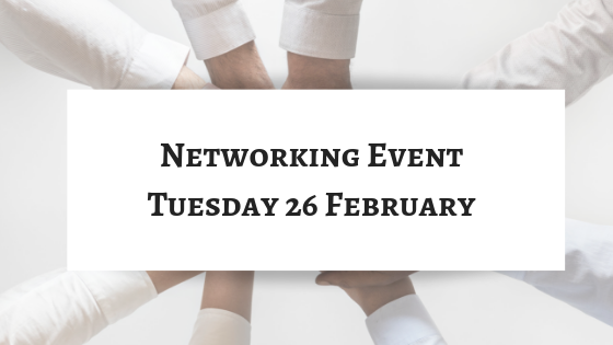 Tuesday 26 February Brexit Networking Event