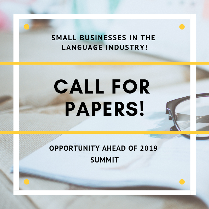 Call For Papers For Summit 2019