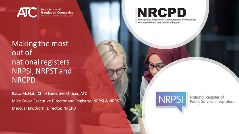 NRPSI, NRPST & NRCPD National Registers At Your Service