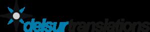 Delsurtranslations logo